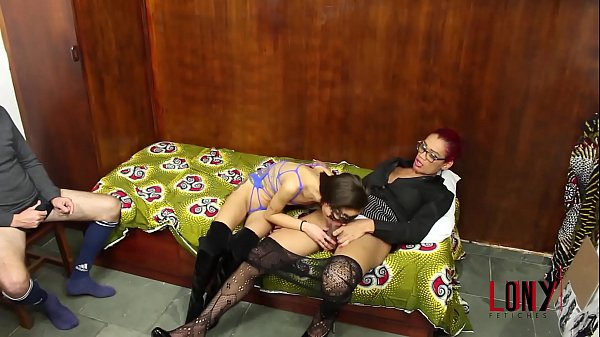 Hard domination – Strong woman and one tgirl dominate Polly, the girlfriend of a cuckold in How Rayka and Tamires Dominate a Cuckold's Little Bitch by Lony Fetiches
